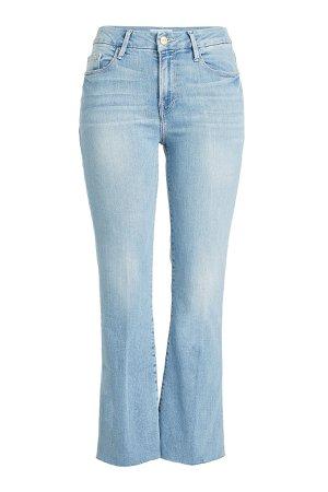 Le Crop Mini Bootcut Flared Jeans Gr. 24