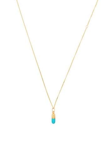 True Rocks Mini Pill Pendant Necklace - Farfetch