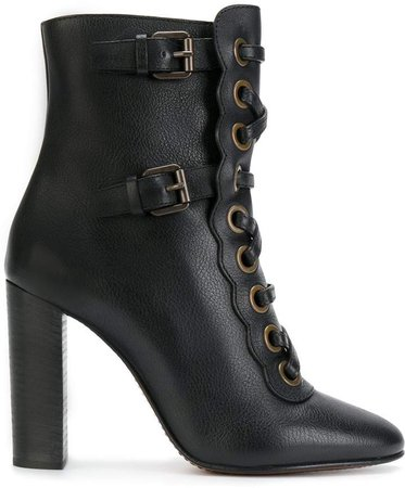 Orson high heeled booties