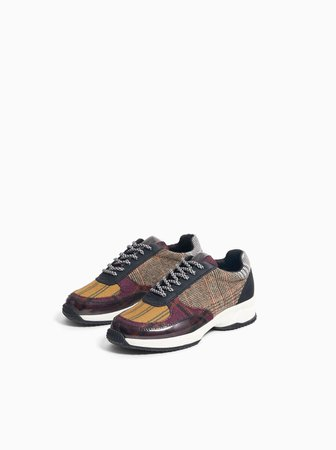 PLAID SNEAKERS - View All-BOY-KIDS-SHOES | ZARA United States