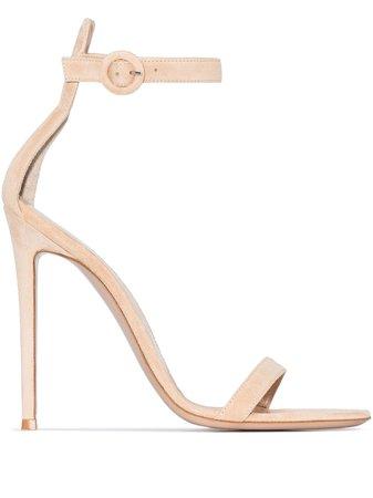 Shop Gianvito Rossi Portofino 105 sandals with Express Delivery - Farfetch