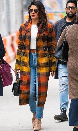 Celebrity Fashion - Plaid and Checks, Fall/Winter Fashion Trend - Celebrity-Fashion.net