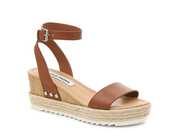 Steve Madden Jewel Espadrille Wedge Sandal Women's Shoes | DSW