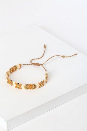 White Multi Bracelet - Friendship Bracelet - Seed Bead Bracelet