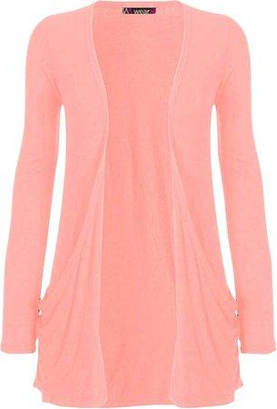 Pink Cardigan (long-sleeve)