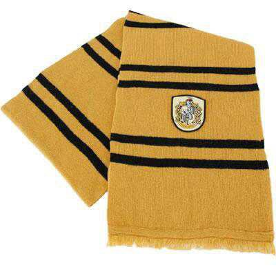 Hufflepuff Scarf | Harry Potter Shop
