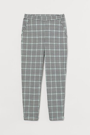 Ankle-length Pull-on Pants - Green