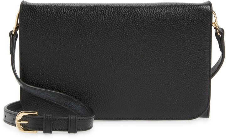 Ronan Leather Crossbody Wallet