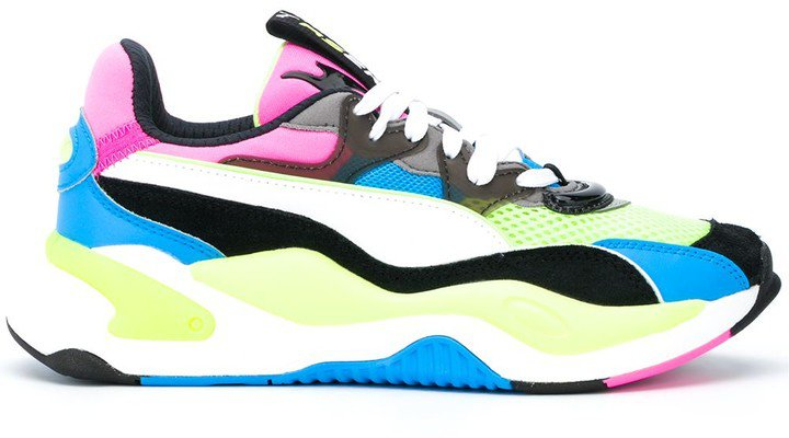 RS-X panelled low-top sneakers