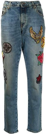 High Rise Slim Fit Jeans