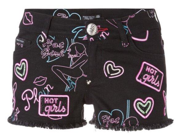Philipp Plein Hot Girl Shorts