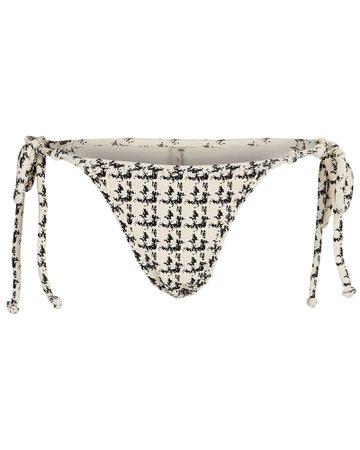 Devon Windsor Eden Houndstooth Bikini Bottoms   INTERMIX®