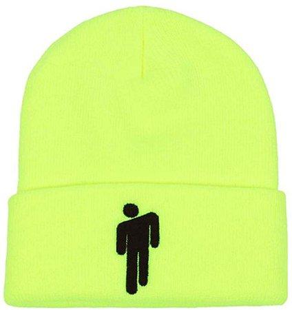 Amazon.com: Tulip Red Billie Eilish Merch Unisex Hat 4 Colors Cap Lovers Beanies Merchandise Stickman Men Women Knitted Green Hat: Clothing