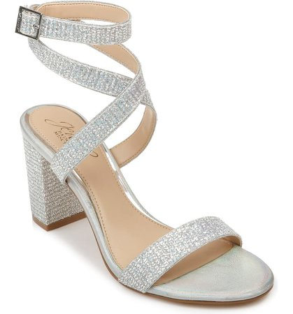Jewel Badgley Mischka Newberry Sandal (Women) | Nordstrom