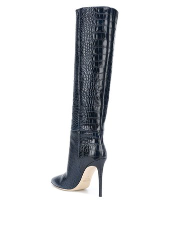 Paris Texas knee-length Stiletto Boots - Farfetch