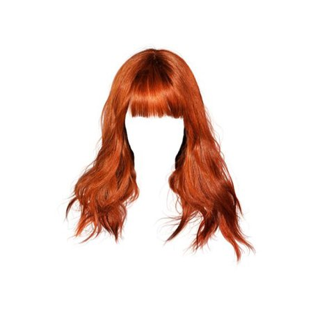 red doll hair png