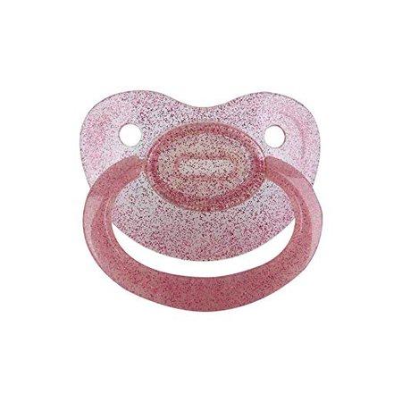 TEN@NIGHT Adult Paci in Glitter Pink
