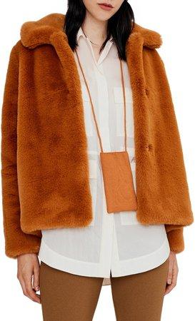 Carly Faux Fur Coat