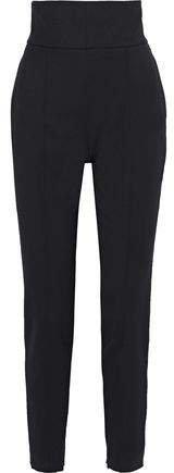 Wool-blend Twill Slim-leg Pants