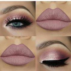 Pinterest - Burgundy Fall Makeup Idea | Love These Pins