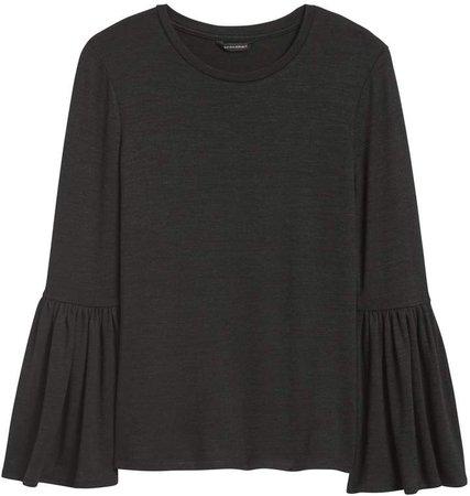 Luxespun Bell-Sleeve T-Shirt