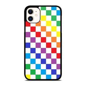 CHECKERED RAINBOW iPhone 11 Case – Mewlena
