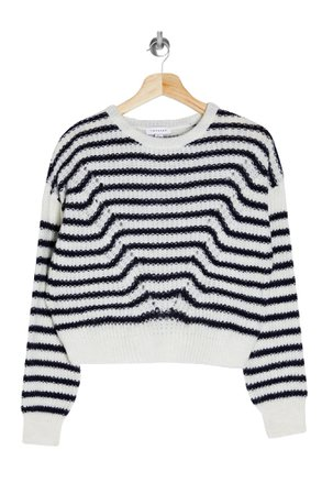 Topshop Stripe Wave Sweater | Nordstrom
