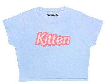 Kitten Crop Top