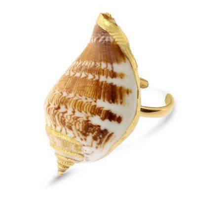 24K Gold Plated Moana Ring