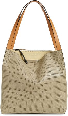 Passenger Perforated Leather Tote