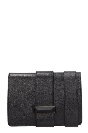 Marc Ellis Black Leather Beryl Bag