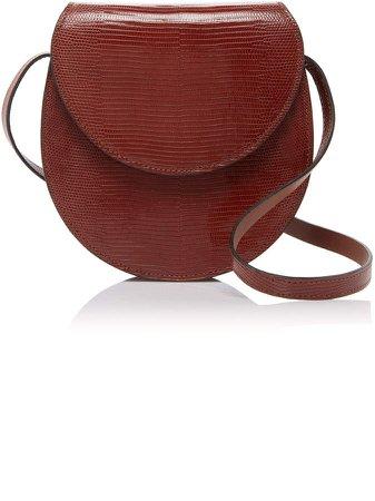 Hunting Season Leather Saddle Crossbody Bag