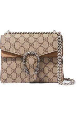 Gucci   Dionysus mini printed coated-canvas and suede shoulder bag   NET-A-PORTER.COM