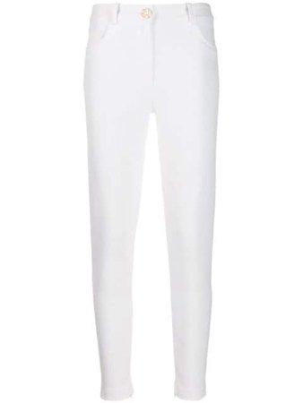 Elisabetta Franchi high-rise Skinny Trousers - Farfetch