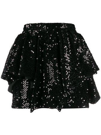 Alexandre Vauthier Sequined Short Skirt | Farfetch.com