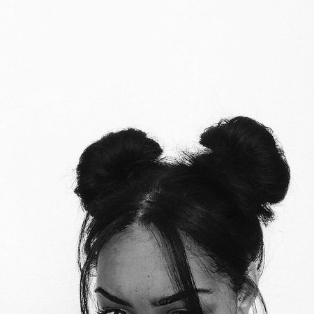 Black Space Buns