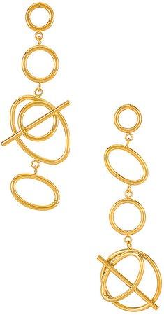 Multi Helix Earrings
