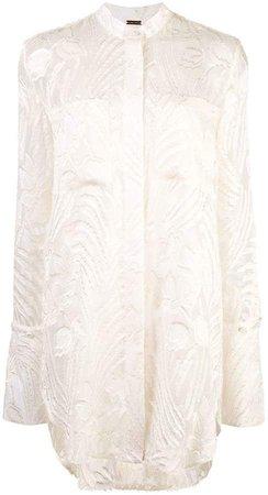detachable cuff blouse