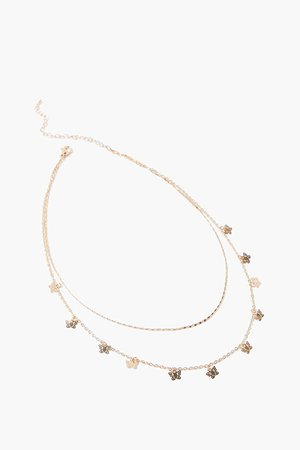 Butterfly Charm Layered Necklace | Forever 21