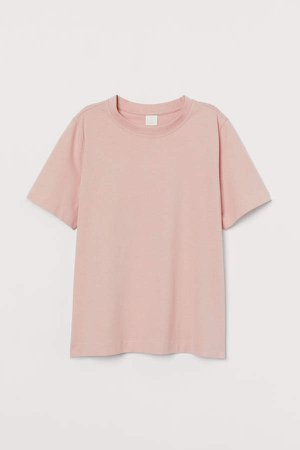 Cotton T-shirt - Pink