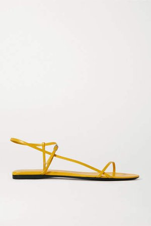 Bare Leather Sandals - Yellow