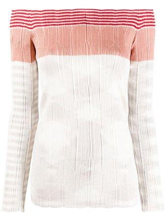Missoni stripe-print knitted jumper - FARFETCH