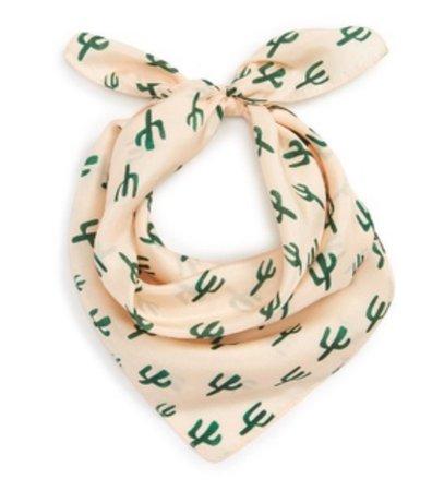 silk cactus scarf