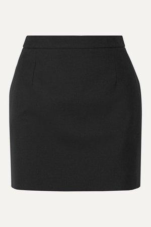SAINT LAURENT | Wool mini skirt | NET-A-PORTER.COM