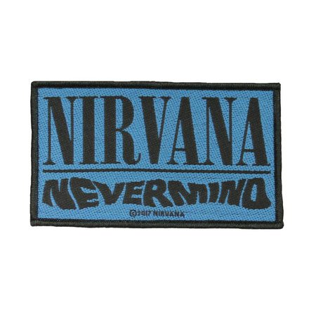 Nirvana Nevermind Album Patch Alternative Rock Band Music | Etsy