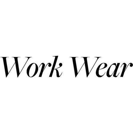 work wear wordspolyvore - Google Search
