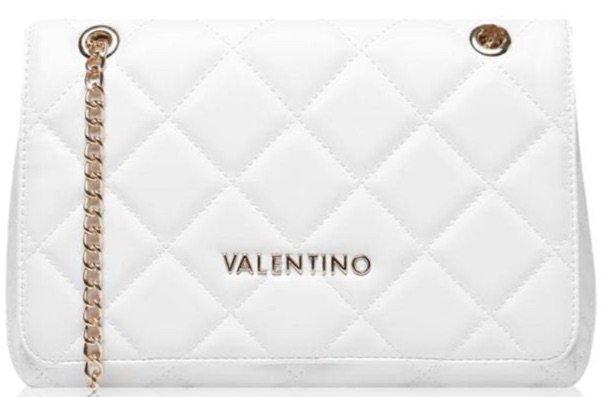 Mario Valentino white shoulder bag