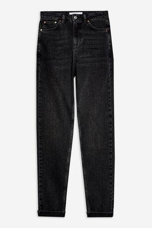 Wash Black Premium Mom Jeans | Topshop