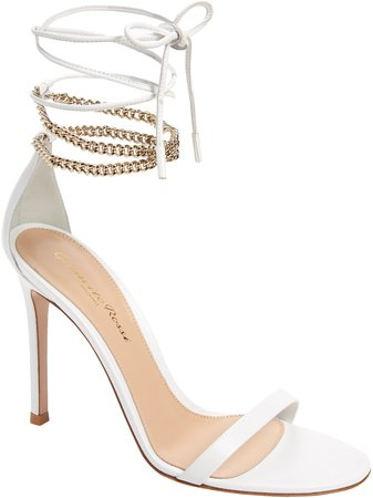 Chain Ankle Wrap Sandal