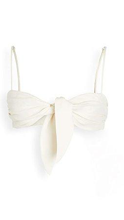 Off-White Linen Lady Bunny Bra   SHOPBOP